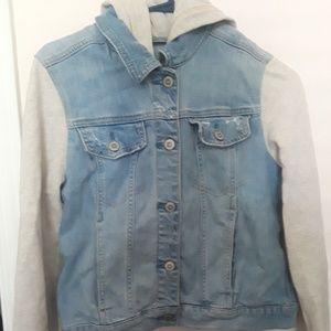 Hollister womens jean jacket